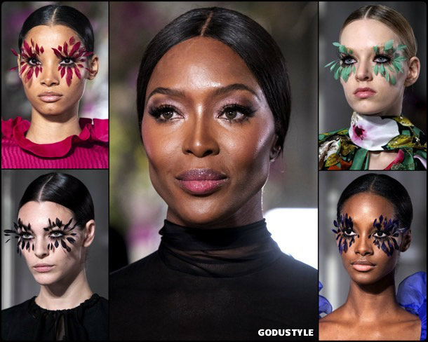 valentino, beauty, look, makeup, belleza, maquillaje, couture, spring 2019, verano 2019, style, details