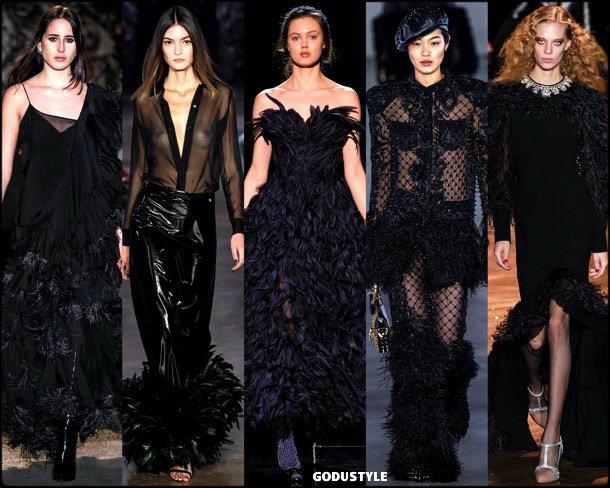 feathers, plumas, fall 2019, fashion, trends, tendencias, moda, otoño 2019, invierno 2020, look, style, details, fashion weeks