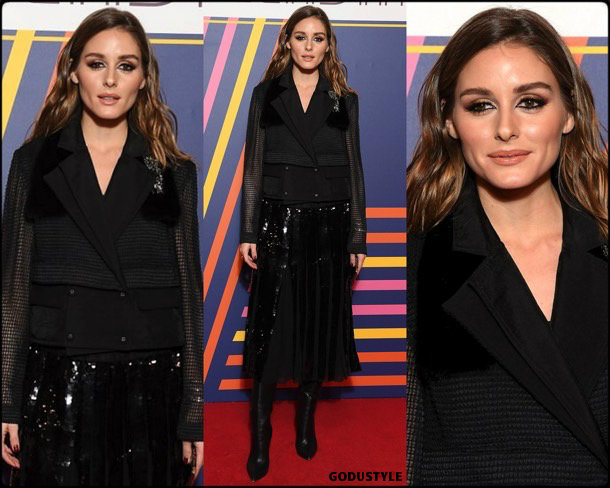 olivia palermo, tomy hilfiger, fashion, looks, fall 2019, pfw, style, details, street style, outfit, front row