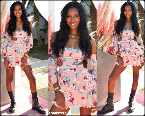 jasmine tookes, coachella, 2019, fashion, look, style, details, influencer, outfit, inspiration, shopping, trends, moda, beauty