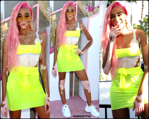 winnie harlow, coachella, 2019, fashion, look, style, details, influencer, outfit, inspiration, shopping, trends, moda, beauty