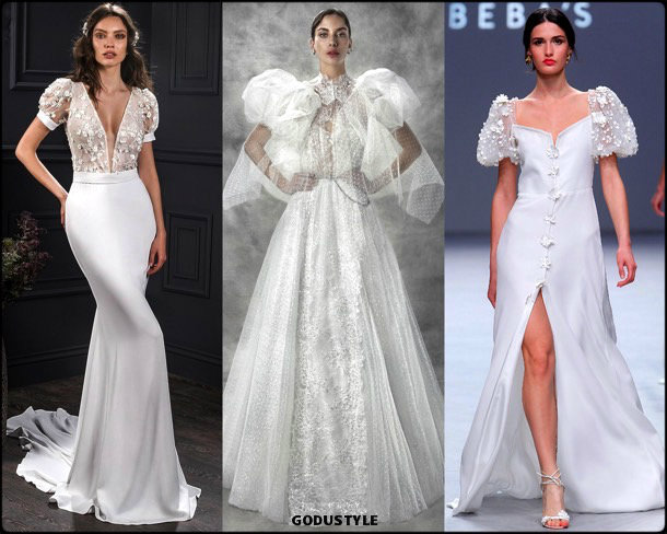 feathers, bridal, spring 2020, trends, novias, verano, 2020, tendencias, plumas, look, style, details, wedding dress, vestidos boda
