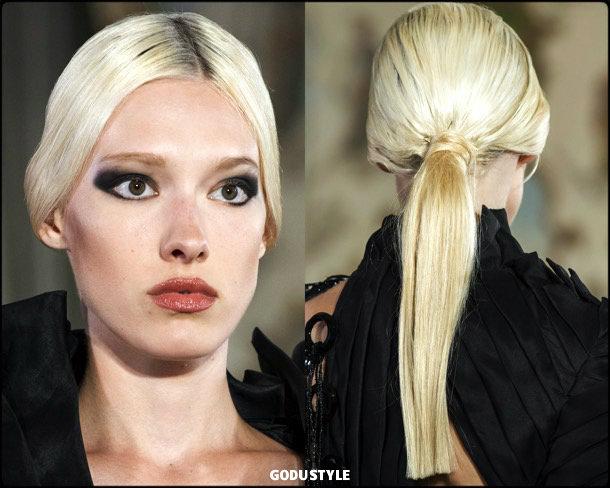 farhad re, fashion, beauty, look, couture, fall 2019, style, details, makeup, hair, trends, belleza, moda, otoño 2019, tendencias