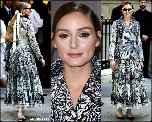 olivia palermo, look, christian dior, front row, couture, fall 2019, style, details, shopping, outfit, streetstyle