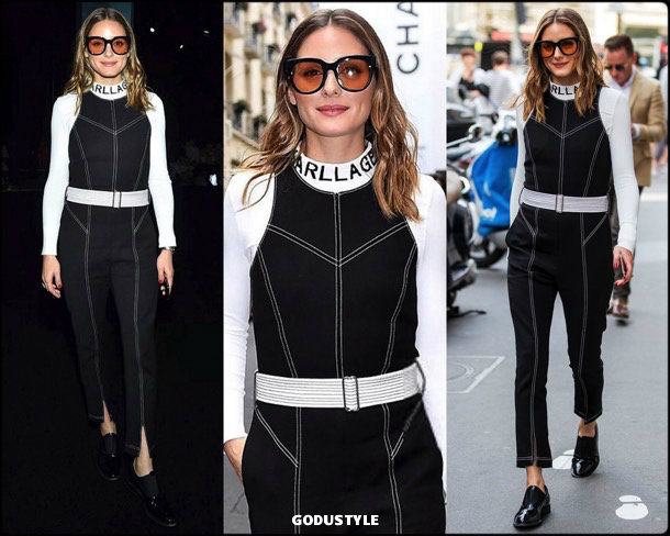 olivia palermo, look, schiaparelli, front row, couture, fall 2019, style, details, shopping, outfit, streetstyle