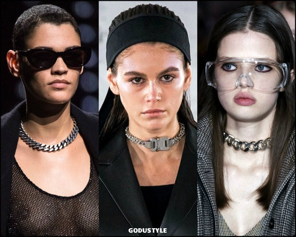 industrial chain necklaces, jewelry, trends, fall 2019, winter 2020, fashion, look, style, details, joyas, tendencias, otoño 2019, invierno 2020, moda, design