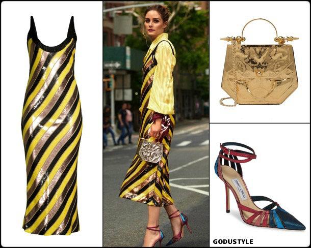 olivia palermo, nyfw, spring 2020, fashion shows, look, front row, streetstyle, style, details, shopping, diane von furstenberg, outfit
