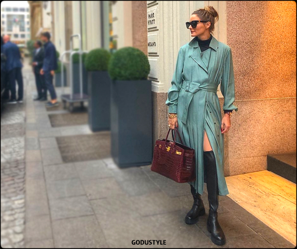 olivia palermo, look, fashion, shows, mfw, spring 2020, mfw, outfit shopping, style, details, street style, instagram, moda