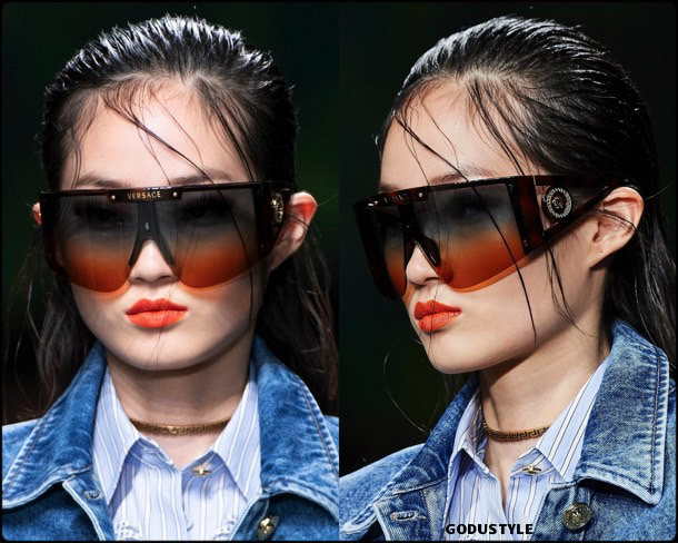 versace, sunglasses, spring 2020, mfw, look, style, details, beauty,gafas sol, verano 2020, trends, tendencia, review, moda, accessories