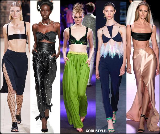 fashion, bra tops, spring 2020, trends, look, style, details, moda, tops, outfit, tendencias, verano 2020, design, diseño, runway, accessories