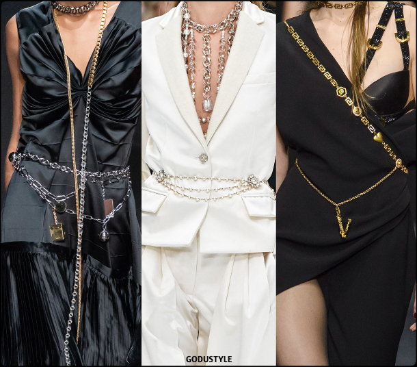 chain belts, belts, fall 2019, accessories, trends, shopping, look, style, details, accesorios, moda, invierno 2020, tendencias, cinturones
