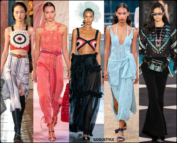 fashion, crochet, spring 2020, trends, look, style, details, moda, outfit, tendencias, verano 2020, design, diseño, runway, accessories