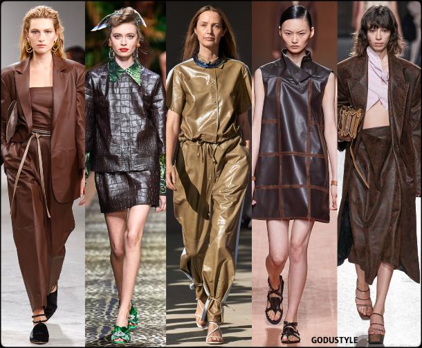 fashion, leather, spring 2020, trends, look, style, details, moda, cuero, outfit, tendencias, verano 2020, design, diseño, runway, accessories