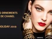 les ornements chanel, chanel, holiday 2019, makeup, beauty, look, style, beauty look, shopping, chanel makeup, navidades 2019, maquillaje