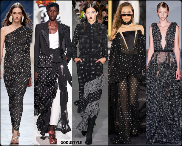 fashion, polka dots, spring 2020, trends, look, style, details, moda, lunares, outfit, tendencias, verano 2020, design, diseño, runway, accessories