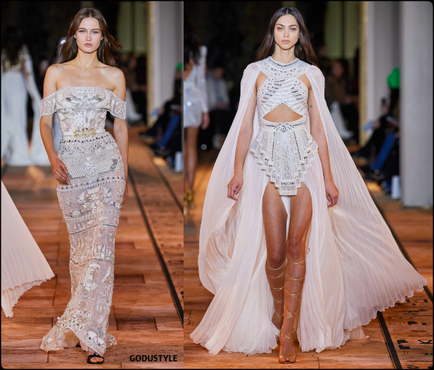 zuhair murad, couture, spring, summer, 2020, haute couture, fashion, look, style, details, accessories, jewelry, beauty, review, moda, alta costura, primavera, verano, repaso