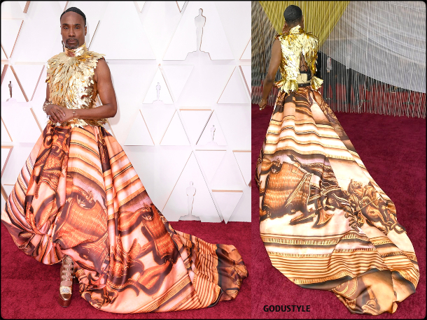 billy porter, oscars, 2020, red carpet, 2020, look, style, beauty, details, jewelry, accessories, moda, alfombra roja, oscar, belleza, joyas