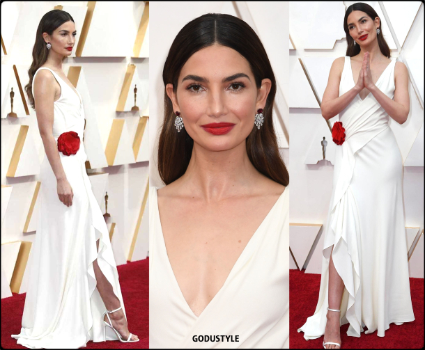 lily aldrige, oscars, 2020, red carpet, 2020, look, style, beauty, details, jewelry, accessories, moda, alfombra roja, oscar, belleza, joyas