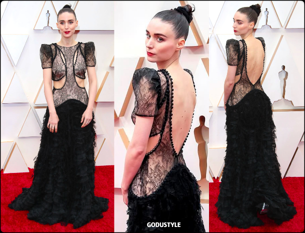 rooney mara, oscars, 2020, red carpet, 2020, look, style, beauty, details, jewelry, accessories, moda, alfombra roja, oscar, belleza, joyas