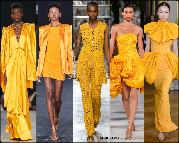 saffron, amarillo, fashion, color, spring, summer, 2020, color, trend, look, style, details, moda, verano, primavera, tendencia, pantone