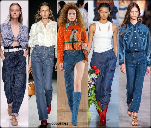 denim, front seams, spring, summer, 2020, fashion, trend, outfit, look, style, details, moda, jeans, tendencia, pespuntes, verano, runway, design