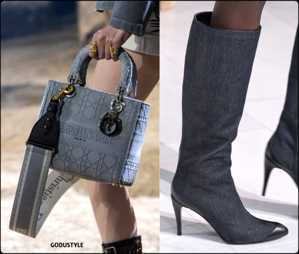 denim, accessories, shoes, bag, spring, summer, 2020, fashion, trend, outfit, look, style, details, moda, jeans, zapatos, tendencia, verano, runway, design