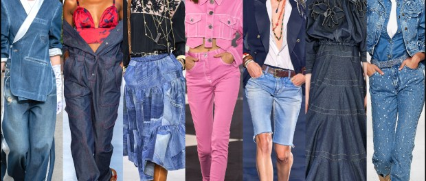 denim, two tone, dress, deluxe, front seams, bermuda, tuxedo, spring, summer, 2020, fashion, trend, outfit, look, style, details, moda, jeans, tendencia, dos tonos, verano, runway, design