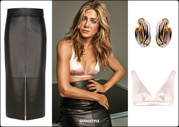 jennifer aniston, fashion, bra top, bralette, spring, summer, 2020, trend, street style, look, shopping, outfit, style, details, moda, sujetador, tendencia, verano