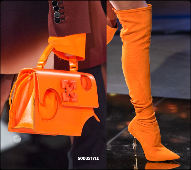amberglow, color, fall, winter, 2020, 2021, fashion, trend, shoes, bags, look, style, details, outfits, runway, moda, tendencia, otoño, invierno