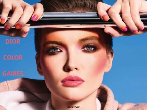 dior, makeup, summer, 2020, dior color games, fashion, beauty, look, shopping, look, style, details, eyeshadow, lipstick, gloss, blush, nail lacquer, moda, maquillaje, verano