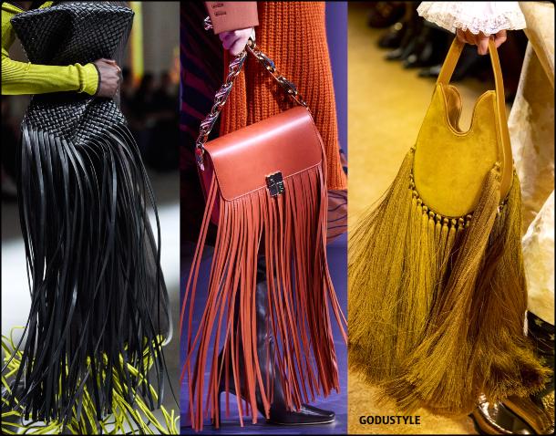 fringe, bags, fall, winter, 2020, 2021, accessories, trend, look, style, details, runway, bolsos, accesorios, moda, flecos, tendencia, invierno, otoño