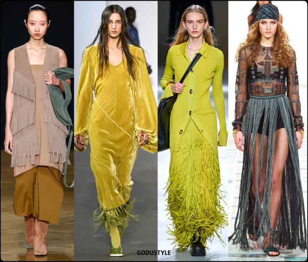 fringe, fall, winter, 2020, 2021, trend, boho chic, look, style, details, runway, moda, flecos, tendencia, invierno, otoño