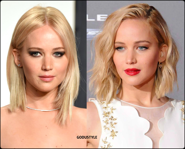jennifer lawrence, wavy bob, straight bob, fashion, bob, hairstyle, fall, 2020, winter, 2021, hair, trend, beauty, look, style, details, moda, tendencia, peinado, corte pelo