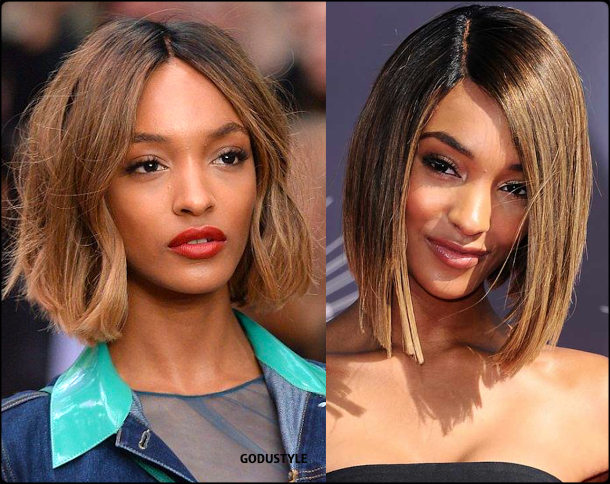 jourdan dunn, wavy bob, straight bob, fashion, bob, hairstyle, fall, 2020, winter, 2021, hair, trend, beauty, look, style, details, moda, tendencia, peinado, corte pelo