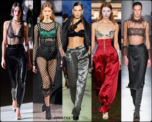fashion, boudoir, lengerie, fall, winter, 2020, 2021, trend, look, style, details, moda, tendencias, otoño, invierno, lencería, bra top, sujetador