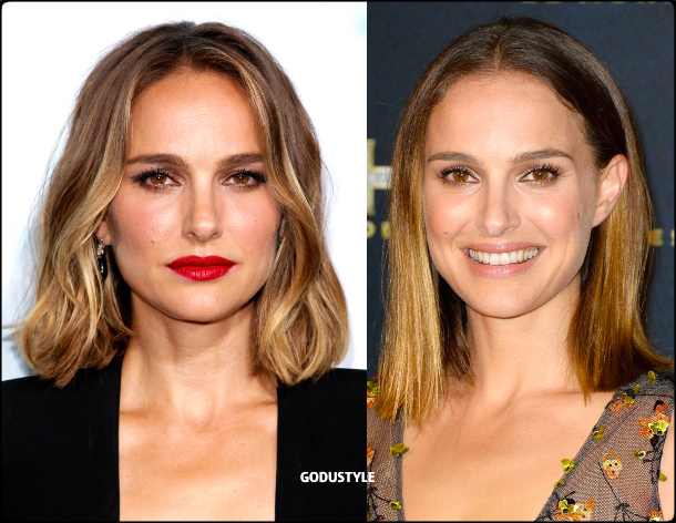 natalie portman, wavy bob, straight bob, fashion, bob, hairstyle, fall, 2020, winter, 2021, hair, trend, beauty, look, style, details, moda, tendencia, peinado, corte pelo