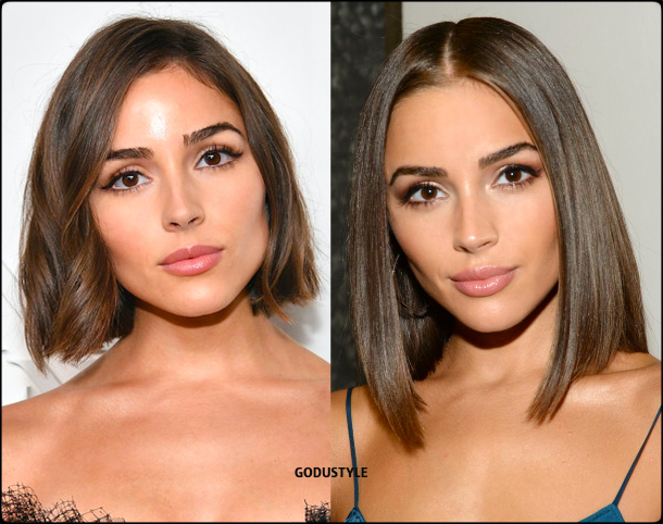 olivia culpo, wavy bob, straight bob, fashion, bob, hairstyle, fall, 2020, winter, 2021, hair, trend, beauty, look, style, details, moda, tendencia, peinado, corte pelo