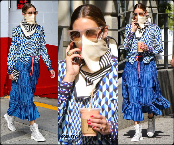 olivia-palermo-fashion-scarf-face-mask-trend-street-style-look2-details-july-2020-moda-godustyle