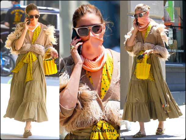 olivia-palermo-fashion-scarf-face-mask-trend-street-style-look3-details-june-2020-moda-godustyle
