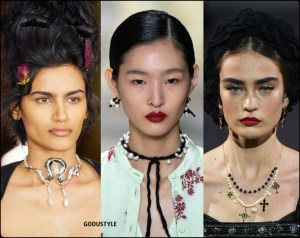 jewelry, fashion, pearl, necklace, trend, fall, 2020, winter, 2021, look, style, details, luxury, runway, design, inspiration, moda, joyas, perlas, tendencias, otoño, invierno