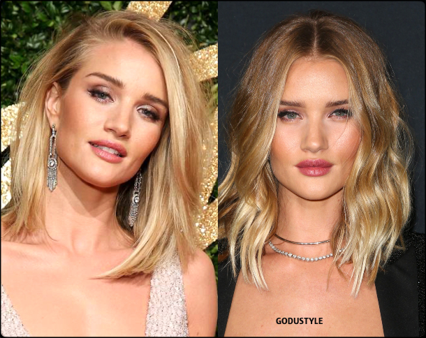 rosie huntington whiteley, wavy bob, straight bob, fashion, bob, hairstyle, fall, 2020, winter, 2021, hair, trend, beauty, look, style, details, moda, tendencia, peinado, corte pelo