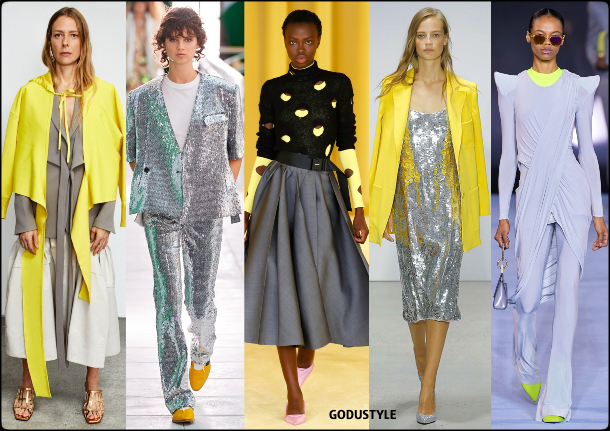 Gris + Amarillo = Color de Moda del 2021