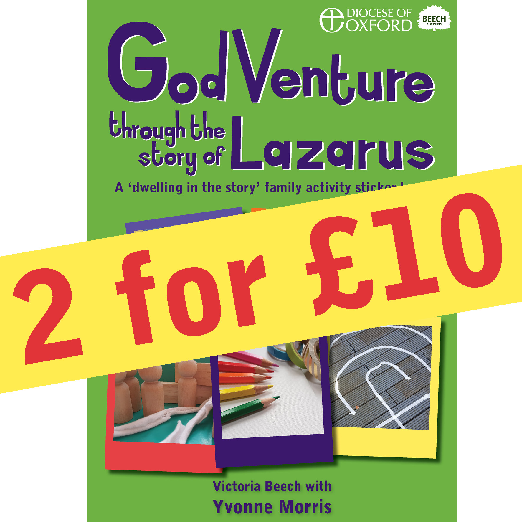 Godventure Through The Story Of Lazarus 2 For 10