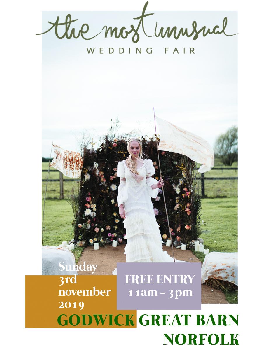 the most unusual wedding fair godwick hall weddings