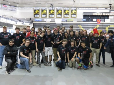 Godwin's 2014 Robotics team