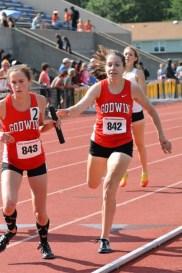 Girls' 4x800 meter relay