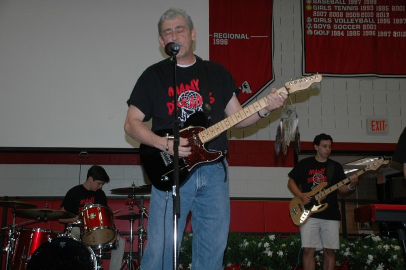 Todd Phillips performing