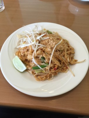Chicken Pad Thai from Elephant Thai Restaurant.