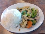 Fried Rice from Vietnam Garden.