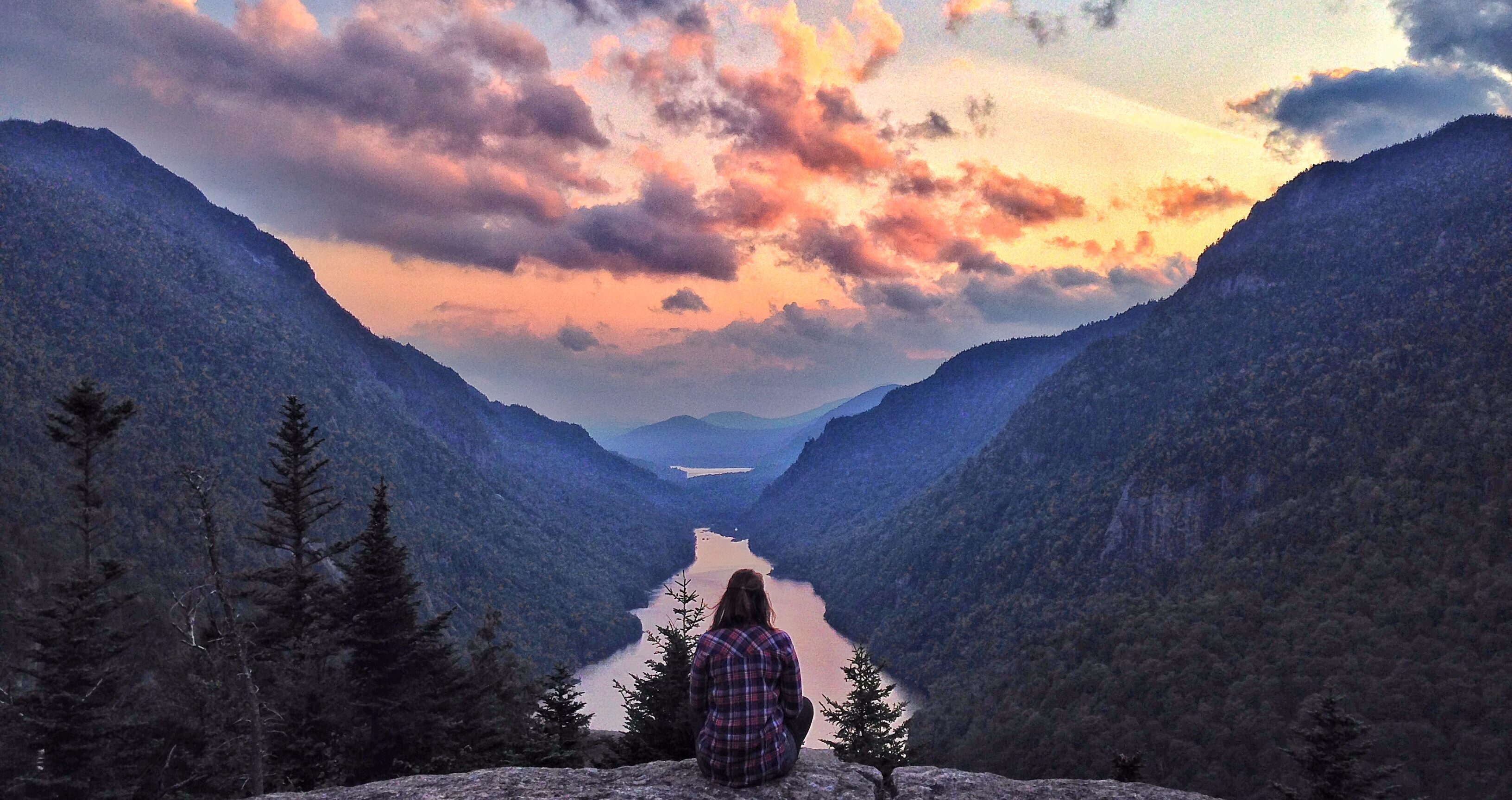 Adirondack Fall Wallpaper Indian Head Fjord Country In The Adirondacks Goeast